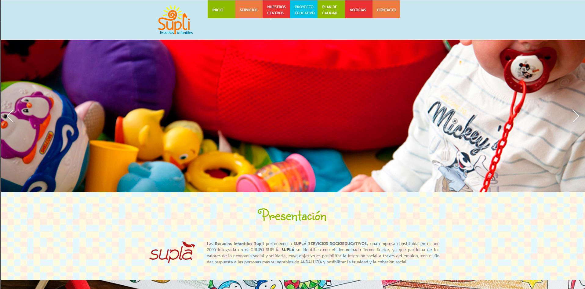 Nuestra nueva web