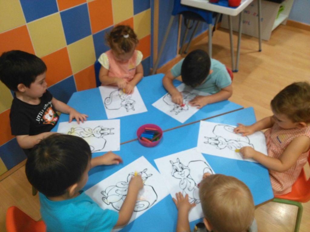 trabajando con fichas escuela educacion infantil cordoba sevilla