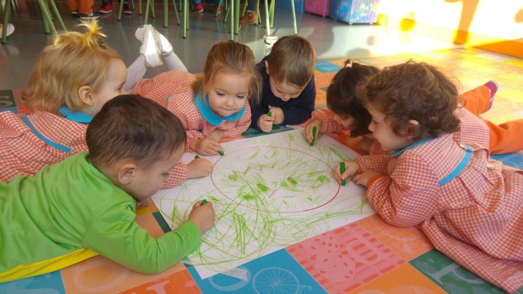 aprendiendo a dibujar escuela educacion infantil cordoba sevilla