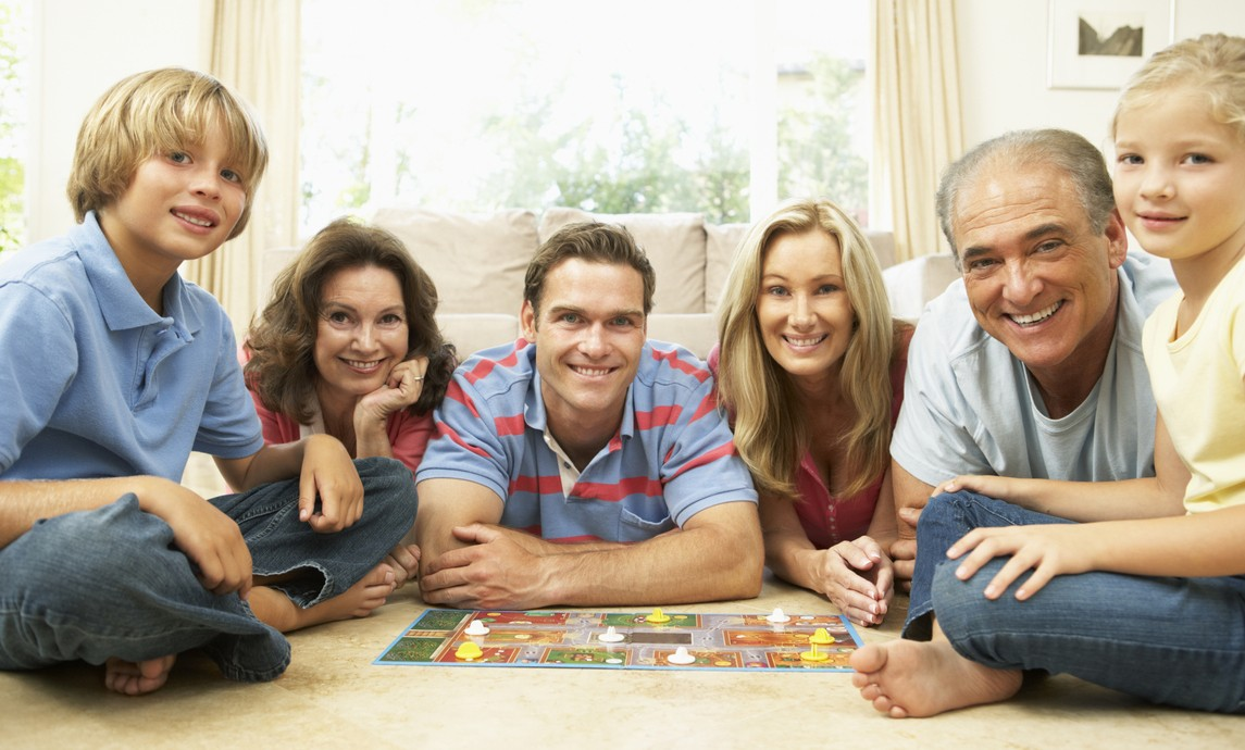 Ventajas de jugar en familia
