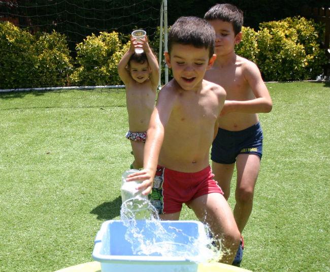 actividades para jugar en verano con nuestros hijos